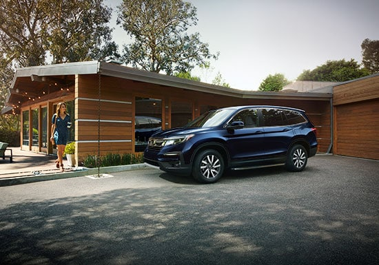 Shop The All New 2019 Honda Pilot Midsize Family Suv