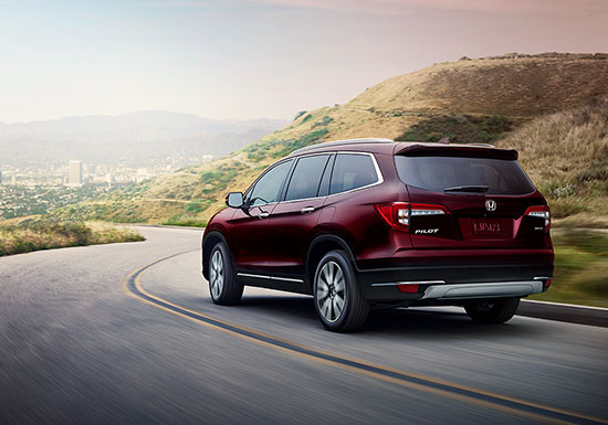 2019 Honda Pilot Exterior Available AWD