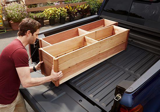 Caja de la camioneta Honda Ridgeline2019