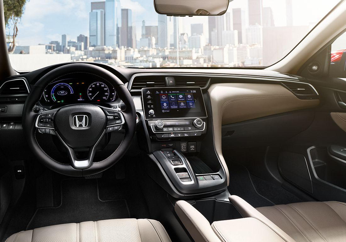 2019 Honda Insight Interior Dashboard.