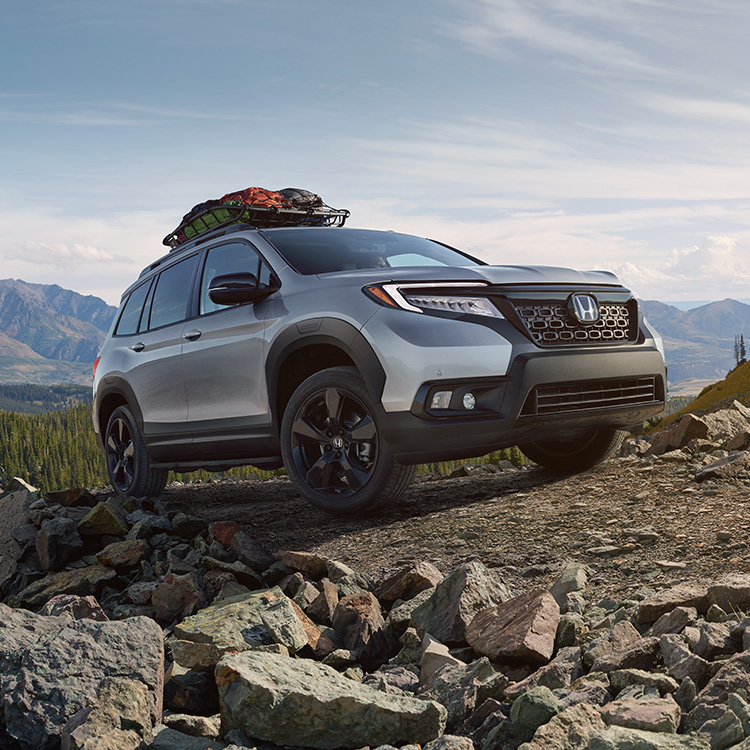 2019 Honda Passport All New Rugged Midsize Suv Honda