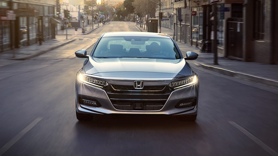 View exterior image gallery for the 2020 Honda Accord - Opens a dialog.