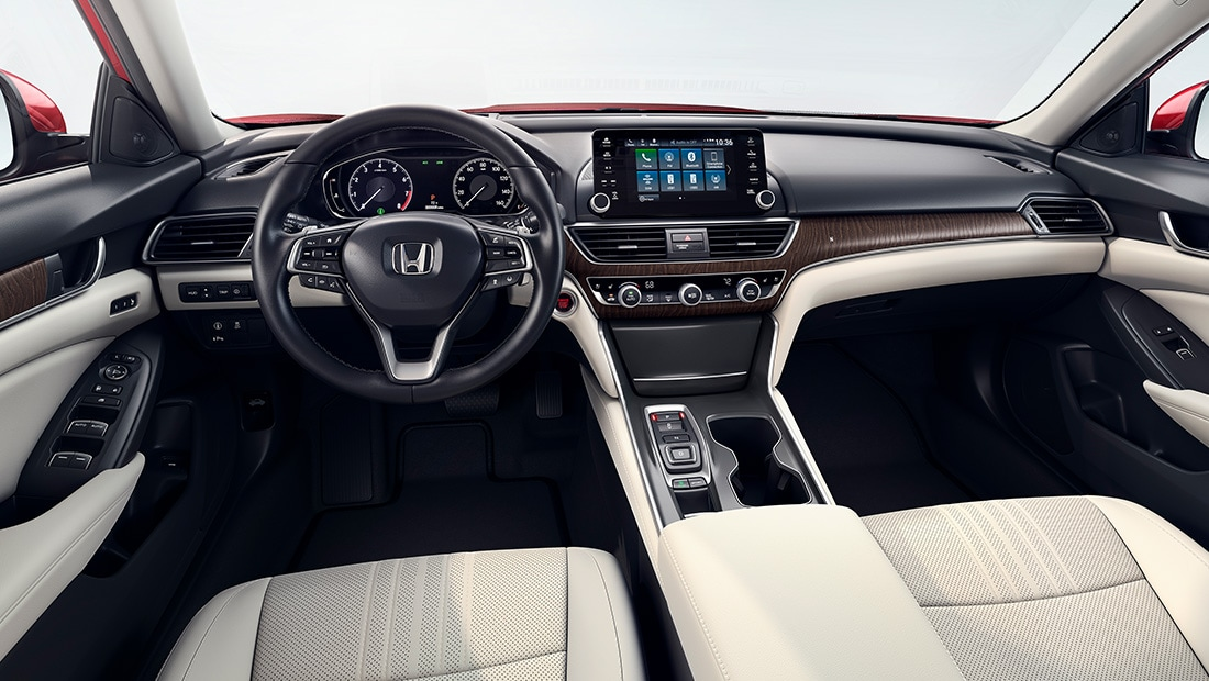 View interior image gallery for the 2020 Honda Accord - Opens a dialog.
