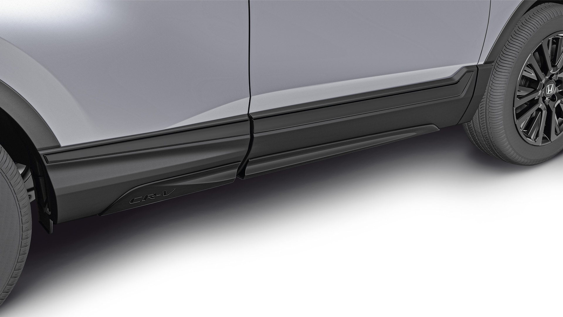 Detail of accessory lower trim accent on the 2020 Honda CR-V.