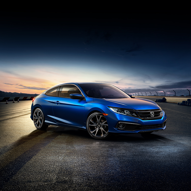 2020 Civic Coupe The Sporty Sophisticated Honda
