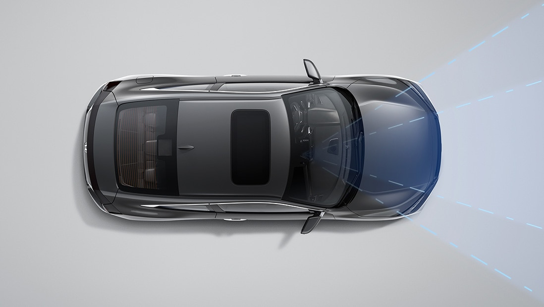 Demonstration of Honda Sensing® Lane Keeping Assist System – Plays Video – Opens a dialog.