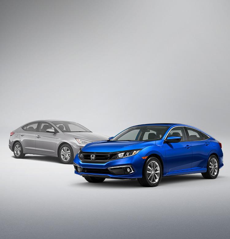 2020 Honda Civic Vs. 2020 Hyundai Elantra Comparison