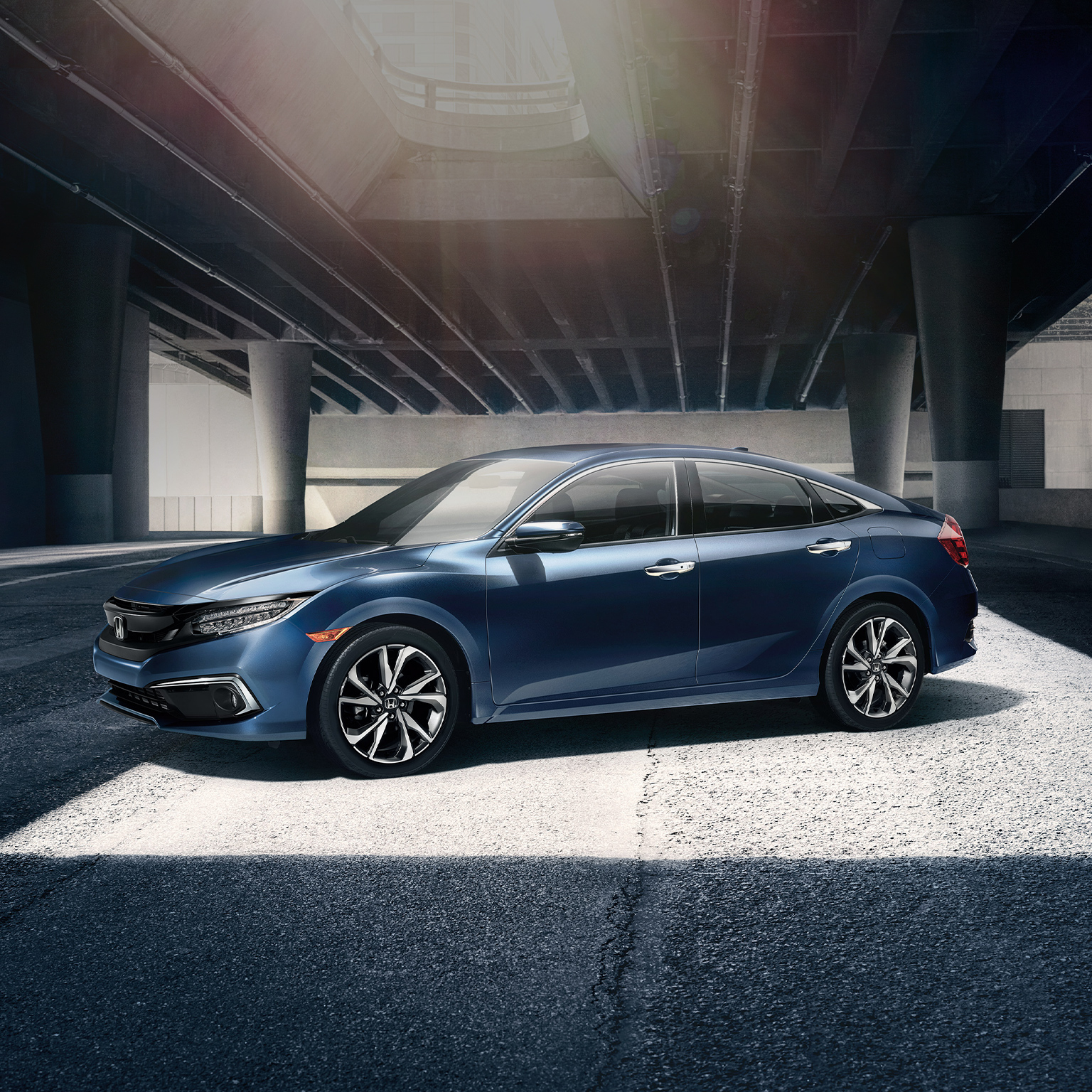 Honda Civic New >> 2020 Civic Sedan Restyled Sporty Design Honda