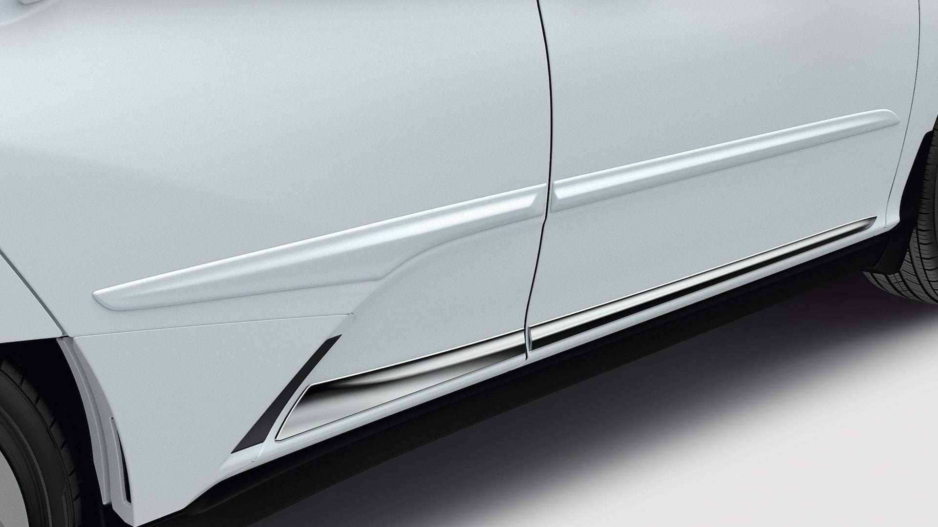 Honda Genuine Accessories body side molding.