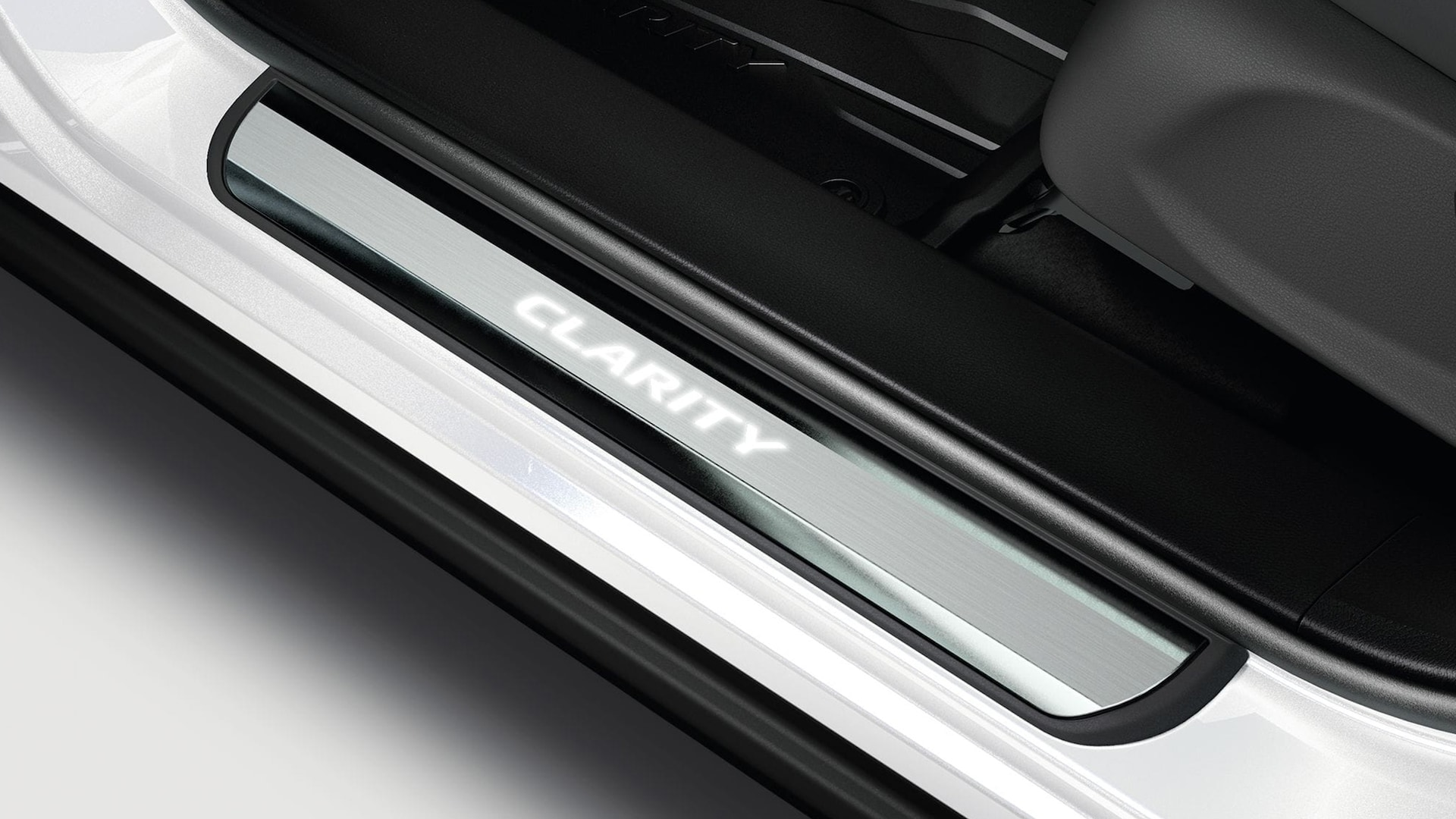 Honda Genuine Accessories illuminated door sill trim.