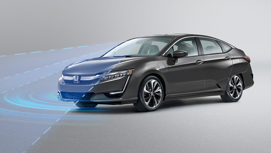 Demonstration of Honda Sensing® Road Departure Mitigation System (RDM).