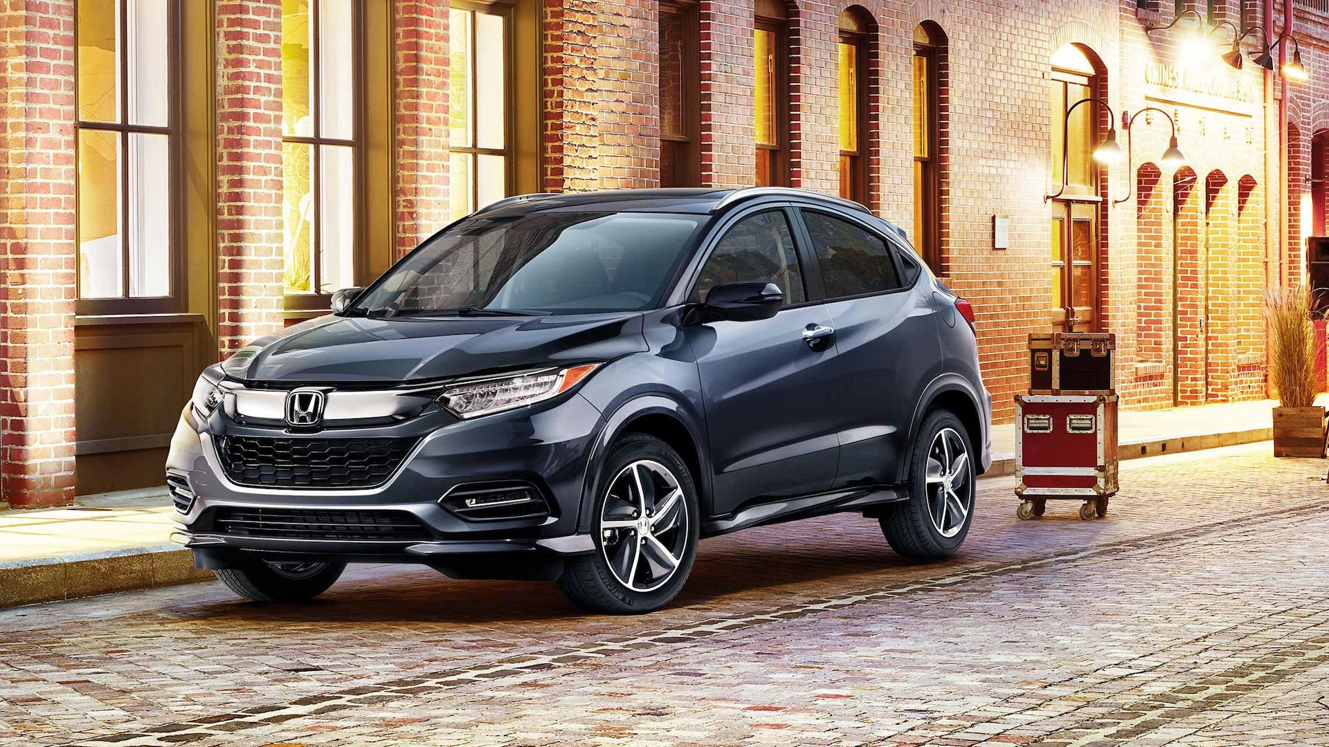 2020 Honda HR-V Front Black Exterior