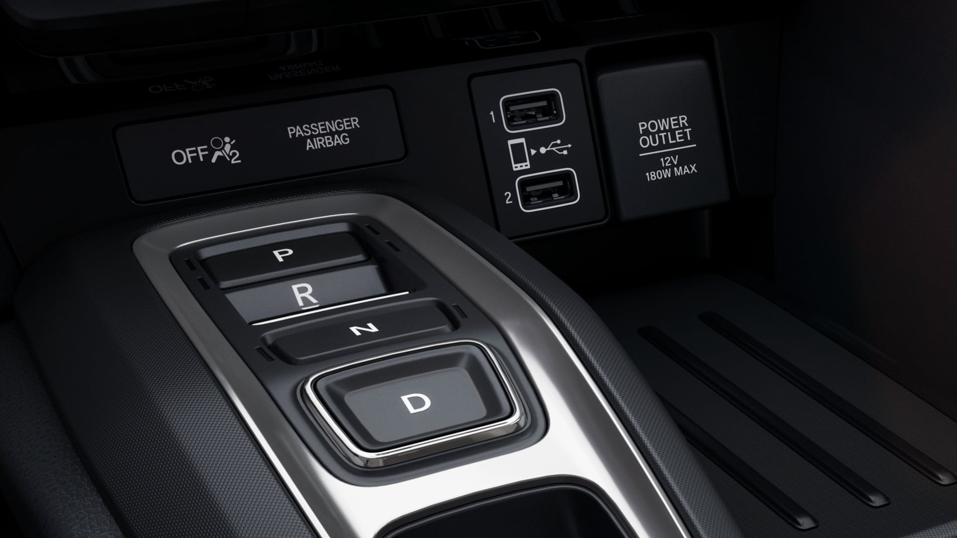 3-Mode driving system detail on 2020 Honda Insight Touring.