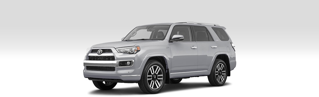 Front driver-side view of 2020 Toyota 4Runner.