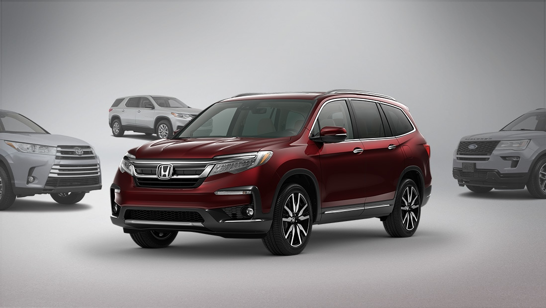 Front view of 2019 Honda Pilot