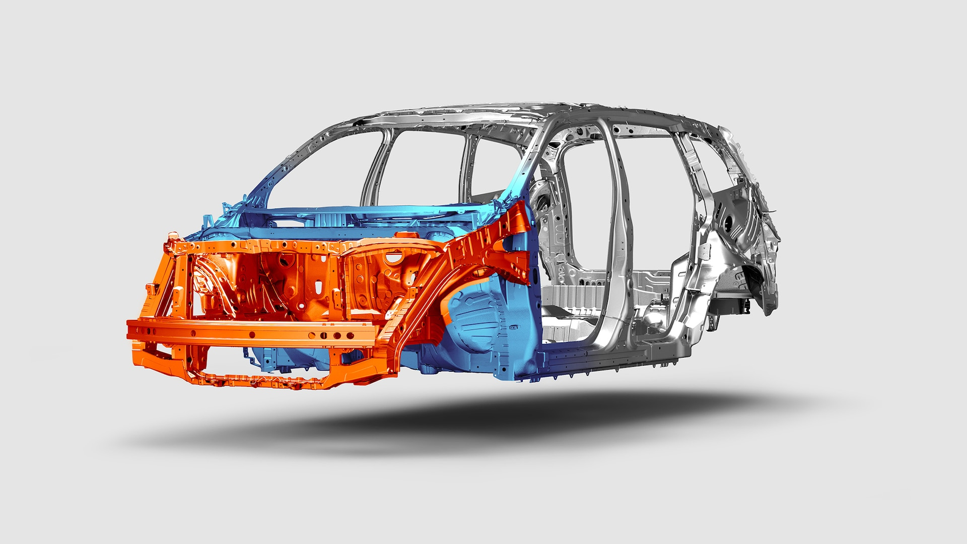 Advanced Compatibility Engineering™ (ACE™) body structure design detail in 2020 Honda Pilot.