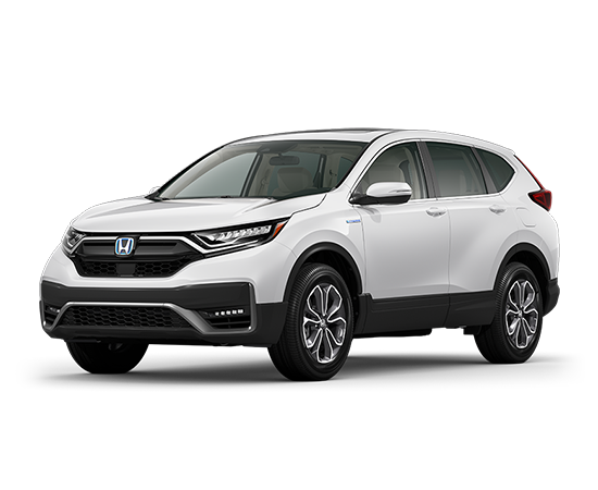 New 2021 Honda CR-V HYBRID EX