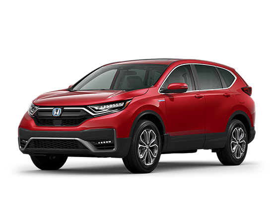 New 2021 Honda CR-V HYBRID EX CVT AWD