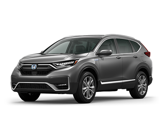 New 2021 Honda CR-V HYBRID TOURING CVT AWD