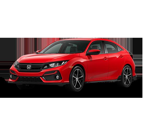2021 Honda Civic Hatchback SPORT Four-Door Sedan