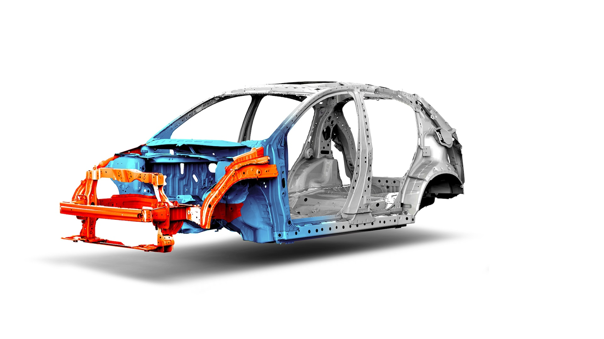 Advanced Compatibility Engineering™ body structure detail on the 2021 Honda HR-V.