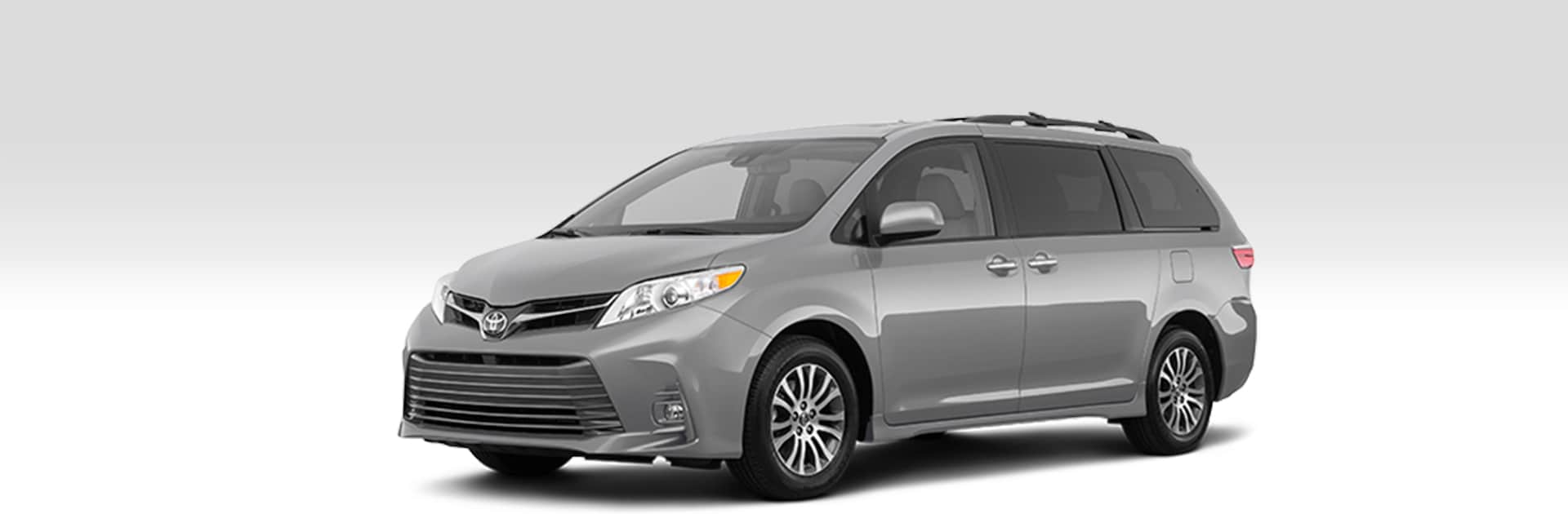 Front driver-side view of the 2020 Toyota Sienna Limited Premium FWD 7-Passenger.