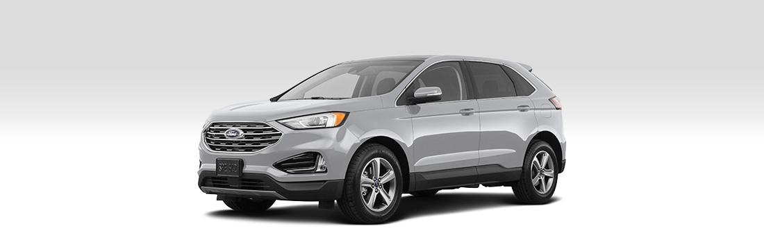 Front driver-side view of the 2020 Ford Edge.
