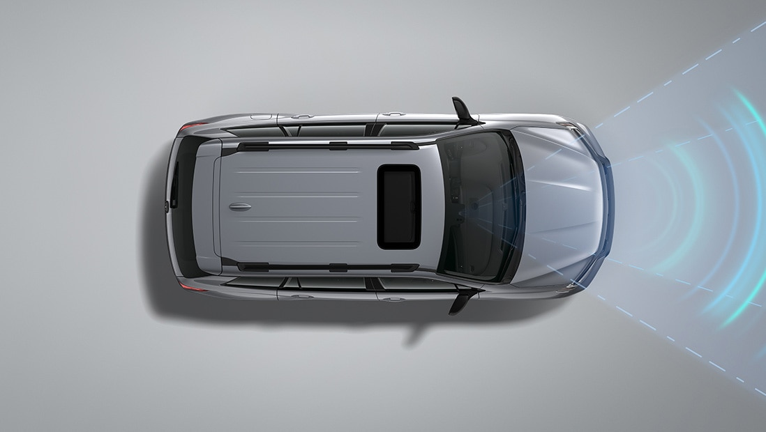 Honda Sensing® Adaptive Cruise Control feature demonstration. Plays video. Opens a dialog.