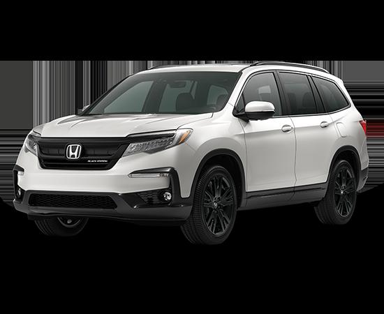 New 2021 Honda Pilot AWD Black Edition