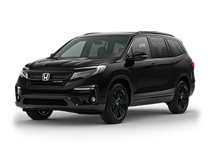 New 2021 Honda Pilot AWD Black Edition