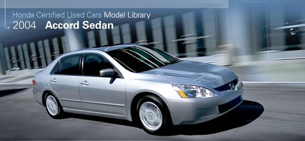 Direct Automobiles Honda Com Images 2004 Accord Sedan Certified Used