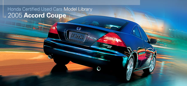 Automobiles Honda Com Images 2005 Accord Coupe Certified Used