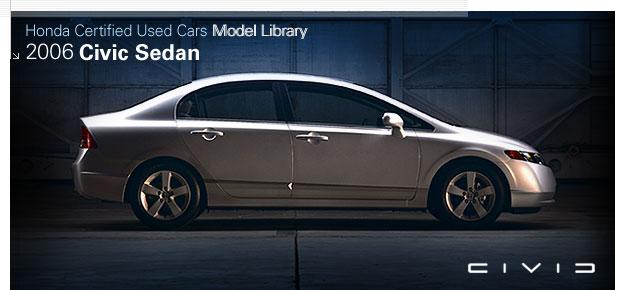 Direct Automobiles Honda Com Images 2006 Civic Sedan Certified Used