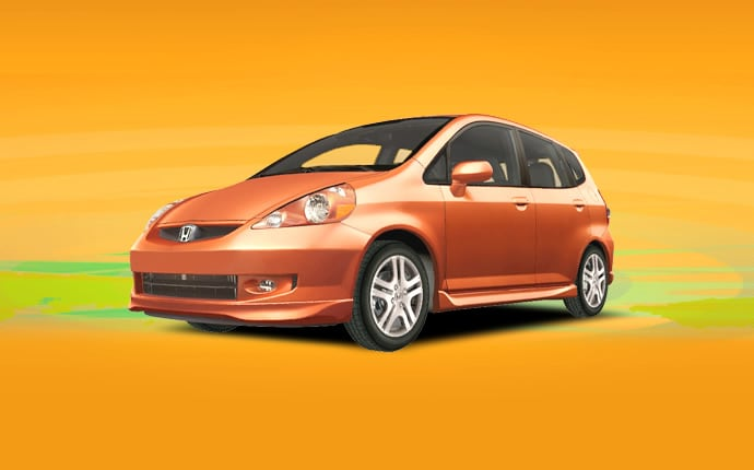 Exterior Photo of 2008 Honda Fit