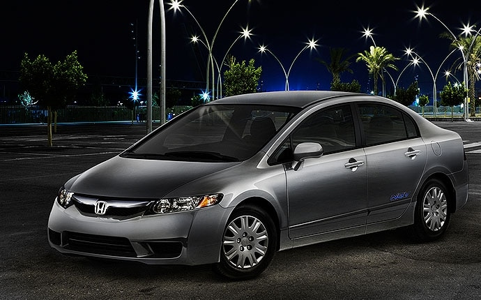 2009 Honda Civic Hybrid. Exterior Photo of 2009 Honda