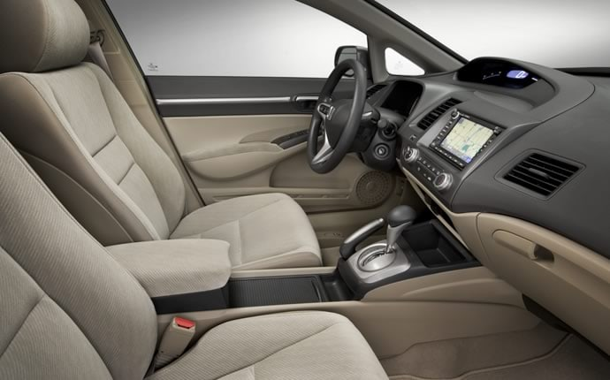 Interior Photo of 2009 Honda Civic Sedan