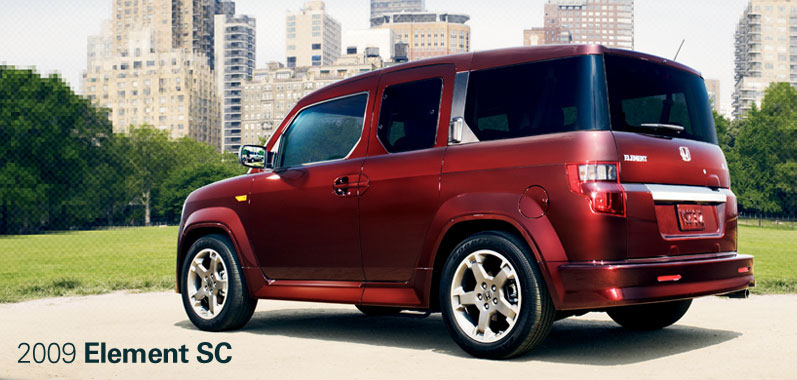 2009 Honda Element SC - Honda Certified Used Cars
