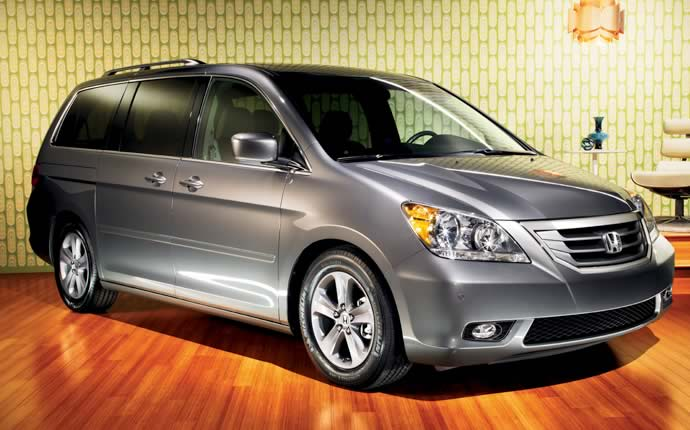 Exterior Photo of 2010 Honda Odyssey