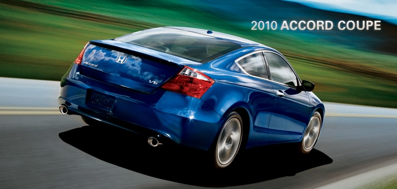 2010 Honda Accord Coupe - Honda Certified Used Cars