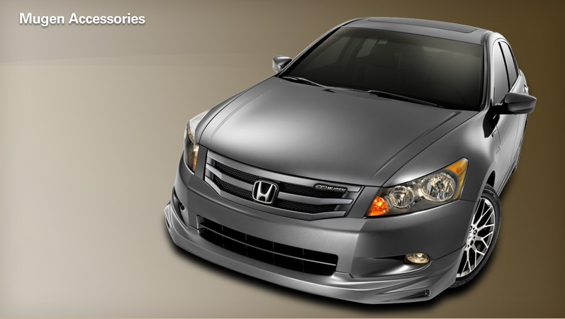 heres the link to the mugen accord page httpautomobileshondacom accord cessoriesaspx