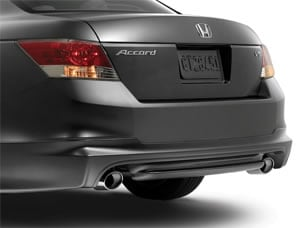MUGEN REAR UNDERBODY SPOILER (part number:)
