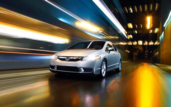 Exterior Photo of 2010 Honda Civic Sedan