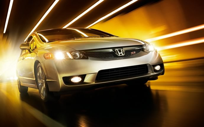 Exterior Photo of 2010 Honda Civic Si Sedan