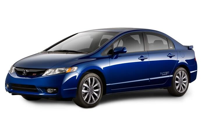 Exterior Photo of 2010 Honda Civic Si Sedan