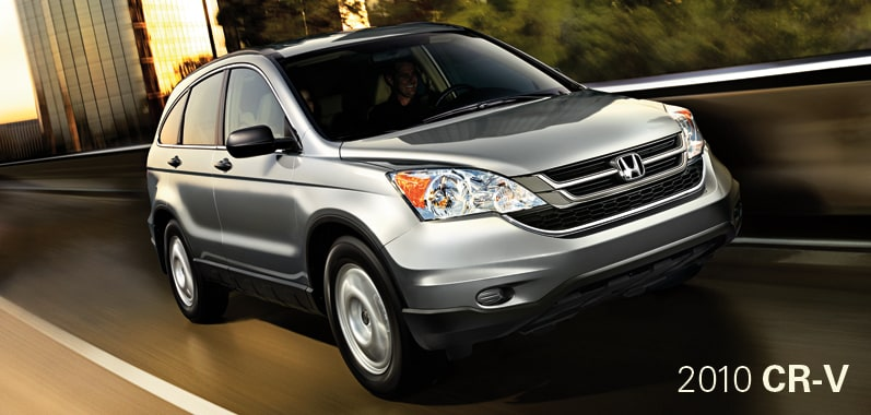 2010 Honda CR-V - Honda Certified Used Cars