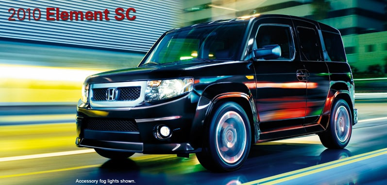 2010 Honda Element SC - Honda Certified Used Cars