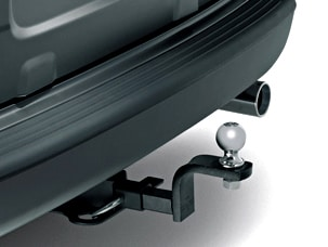 TRAILER HITCH AND HITCH BALL (part number:)