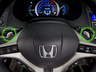 Wheel mounter Paddle shifters