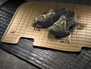 ALL SEASON FLOOR MATS, BLACK (part number:)