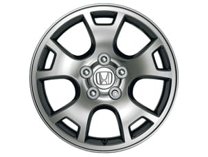 "17"" CHROME-LOOK ALLOY WHEELS (part number:)"